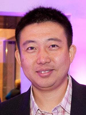 Charles Wang portrait