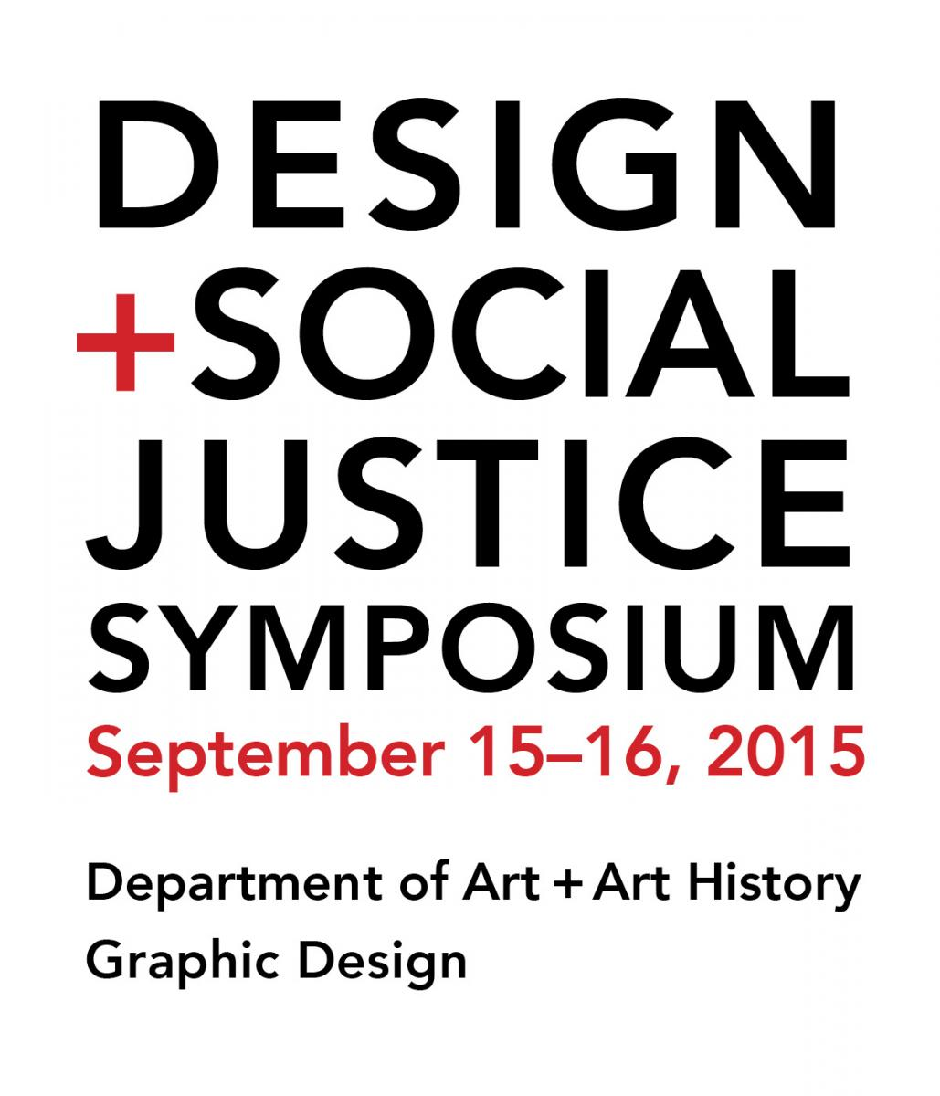 Design + Social Justice Symposium graphic