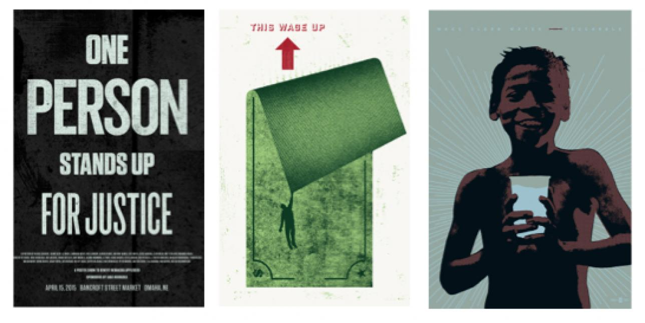 Posters by Justin Kemerling