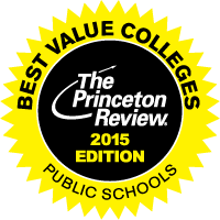 Princeton Review - Best Public University seal