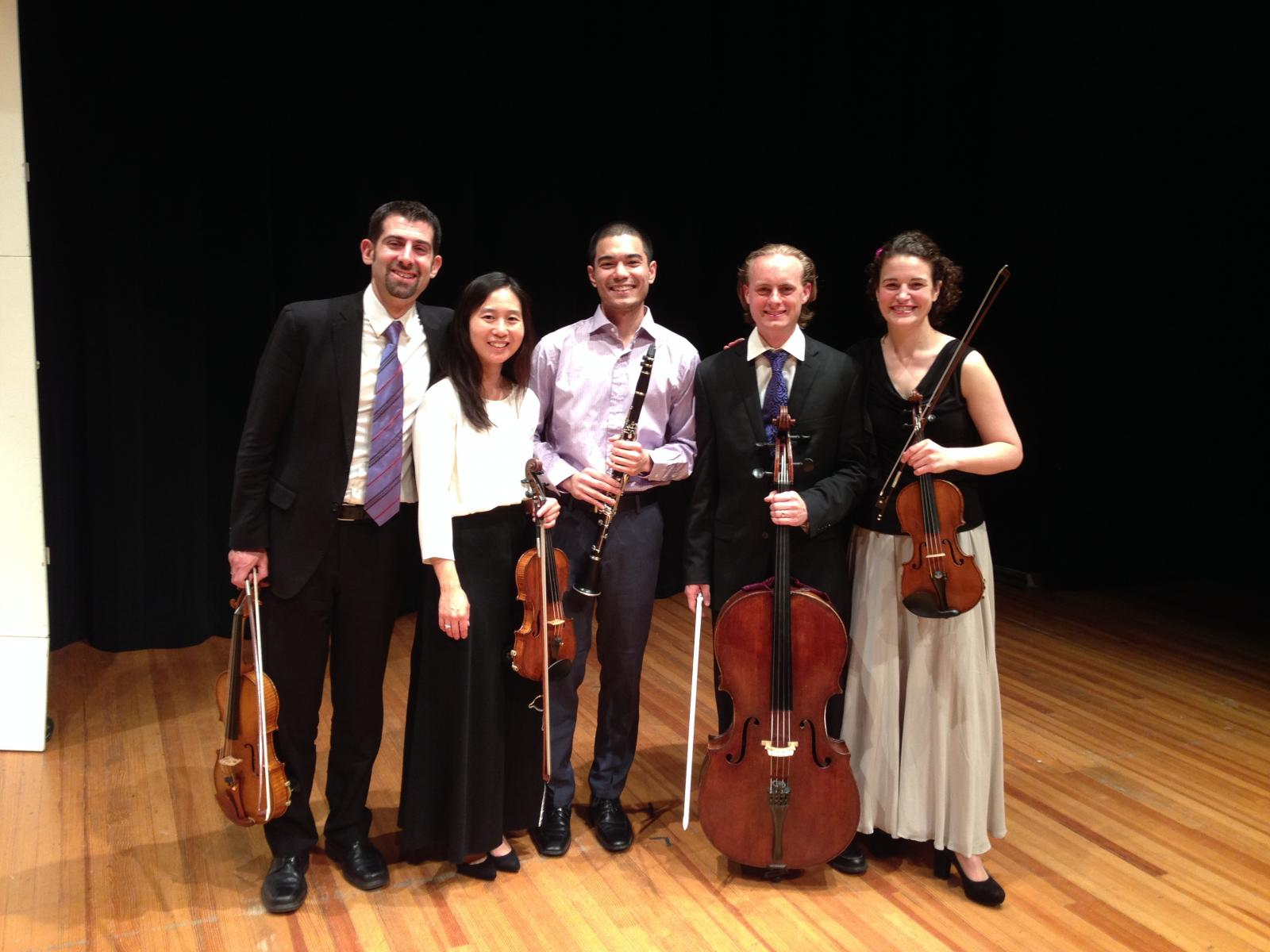 David Kamran, Play with the Chiaras winner, with the Chiara Quartet