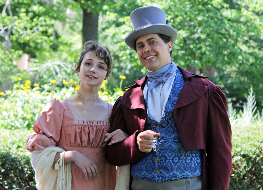 "promotional image from Nebraska Repertory Theatre production of ""Emma"""
