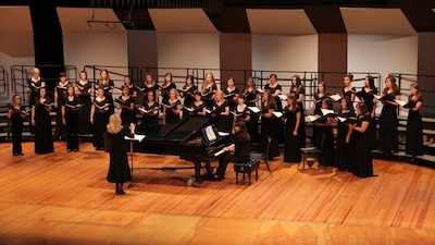 Photo of the University Chorale