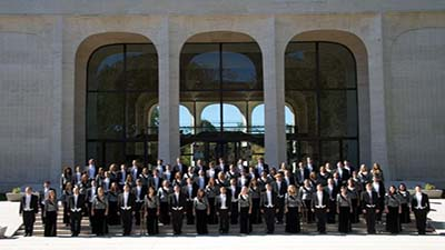 Photo of the University Singers