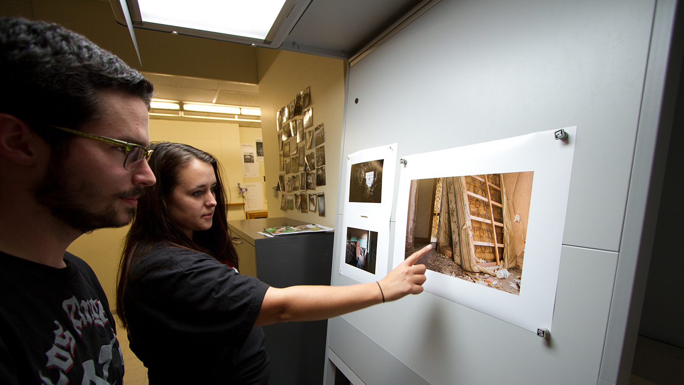 Image of Photography area in Woods Art Building
