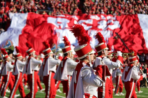 Cornhusker Marching Band Photo