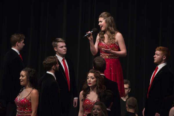 Big Red Singers Performance