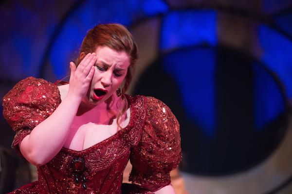 Opera Performer singing