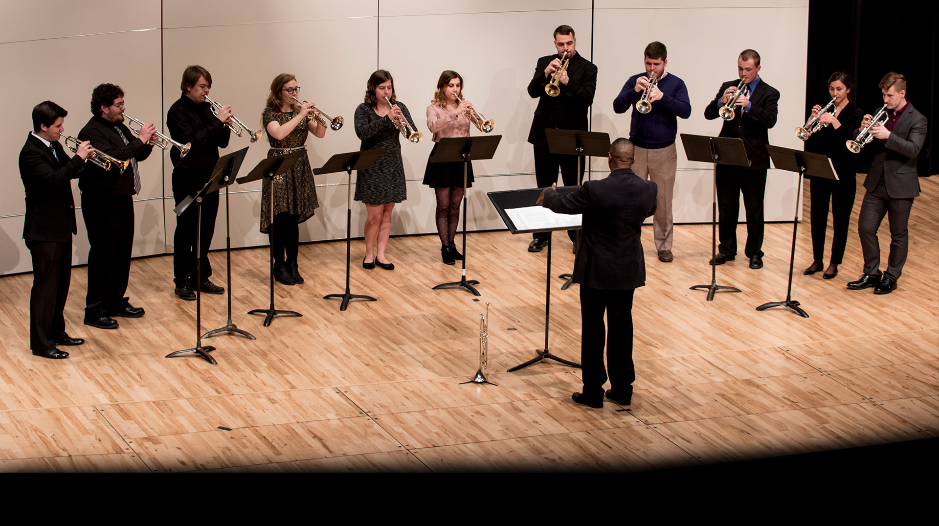 Trumpet Ensemble at Kimball Recital Hall