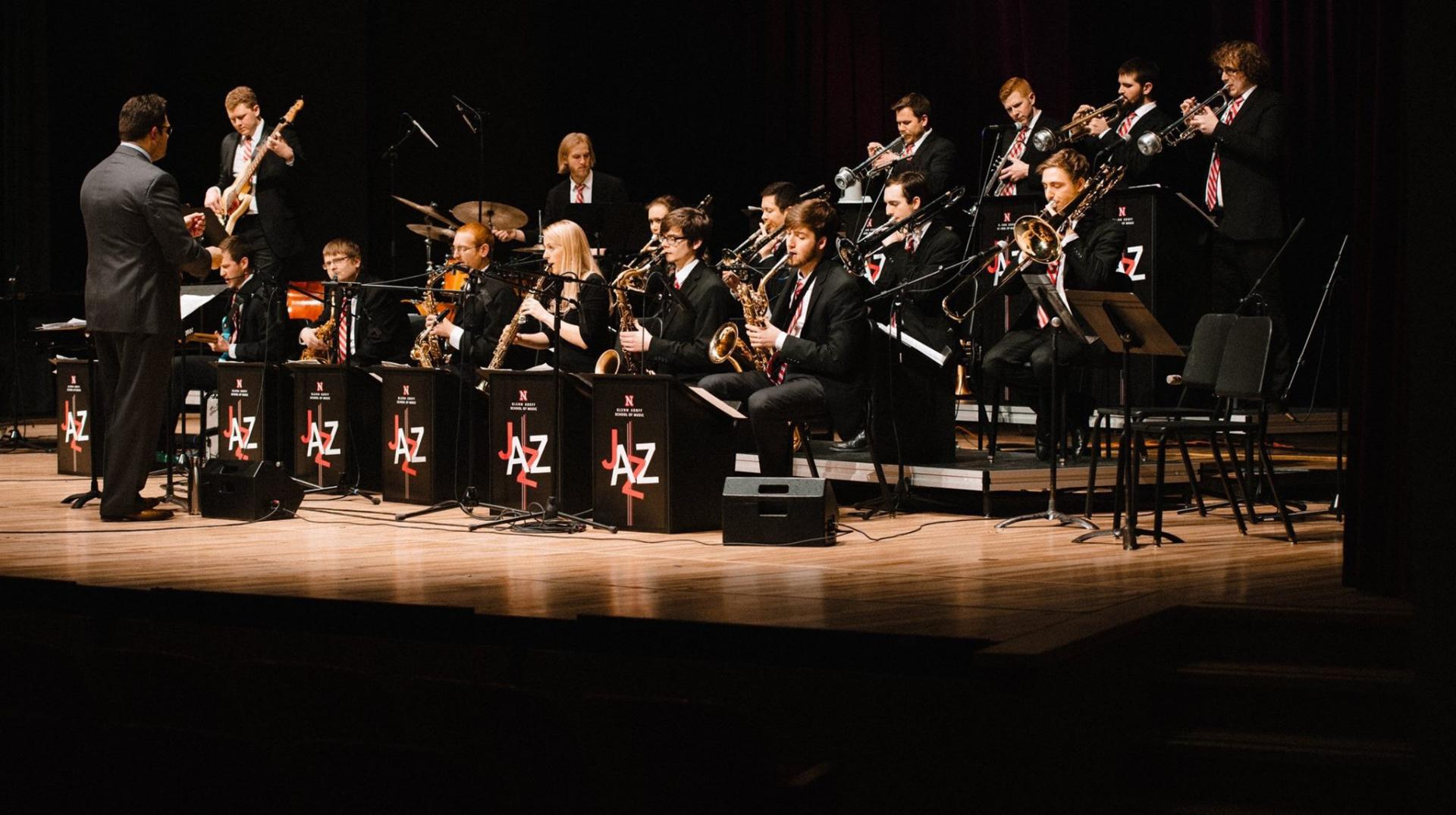 Jazz Orchestra Performing at Kimball Recital Hall