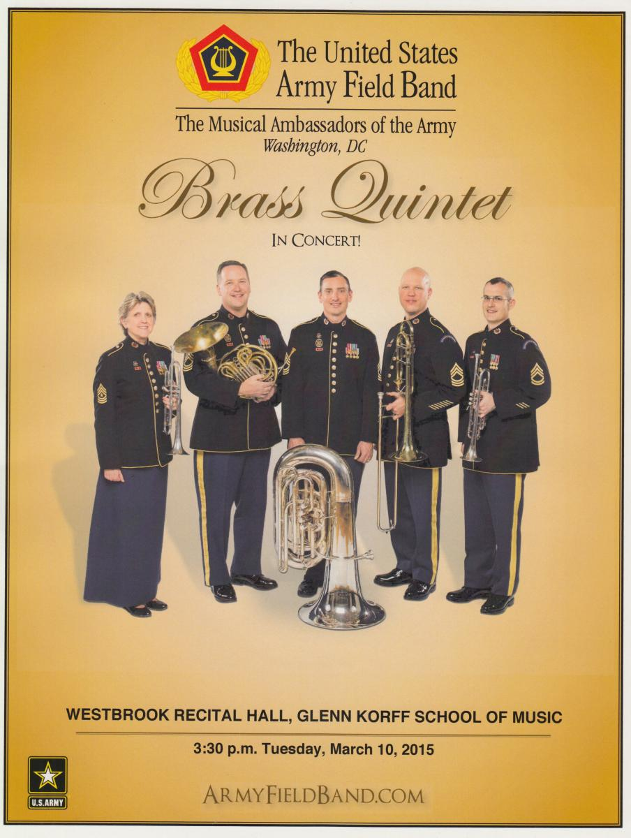 Army Brass Quintet poster