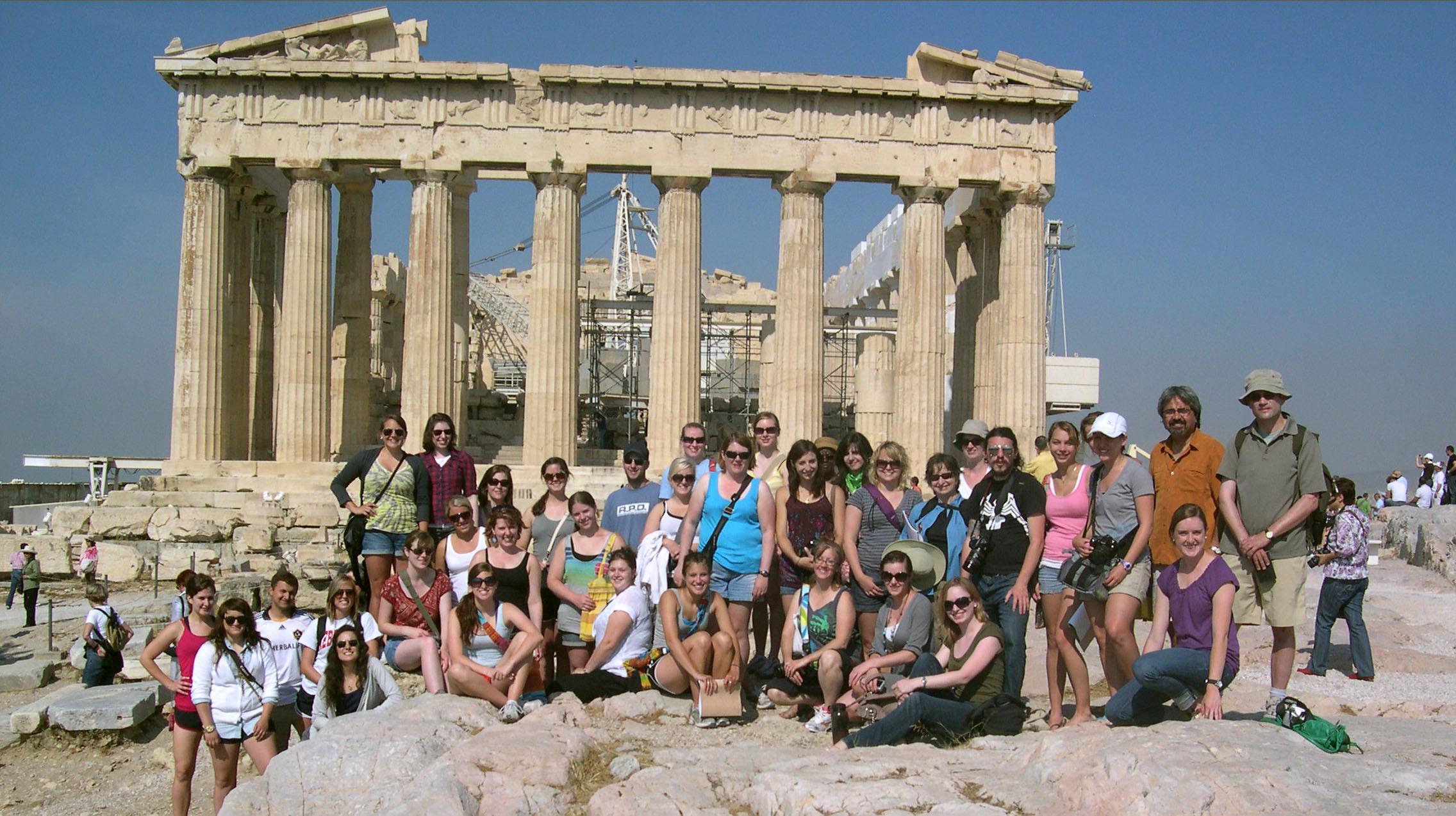 2012 UNL Greek Odyssey study tour