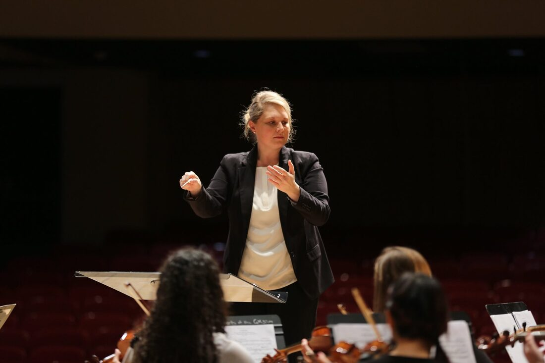 Rebecca Nederhiser Conducting