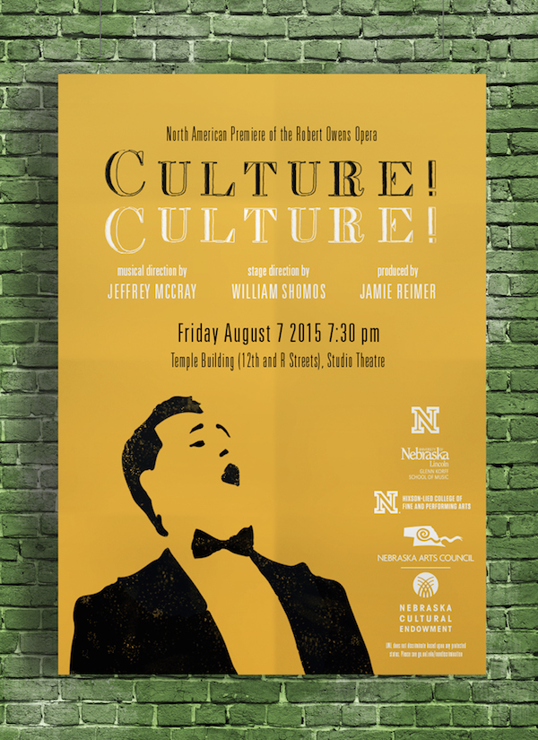 Promotional Poster for Culture! Culture!