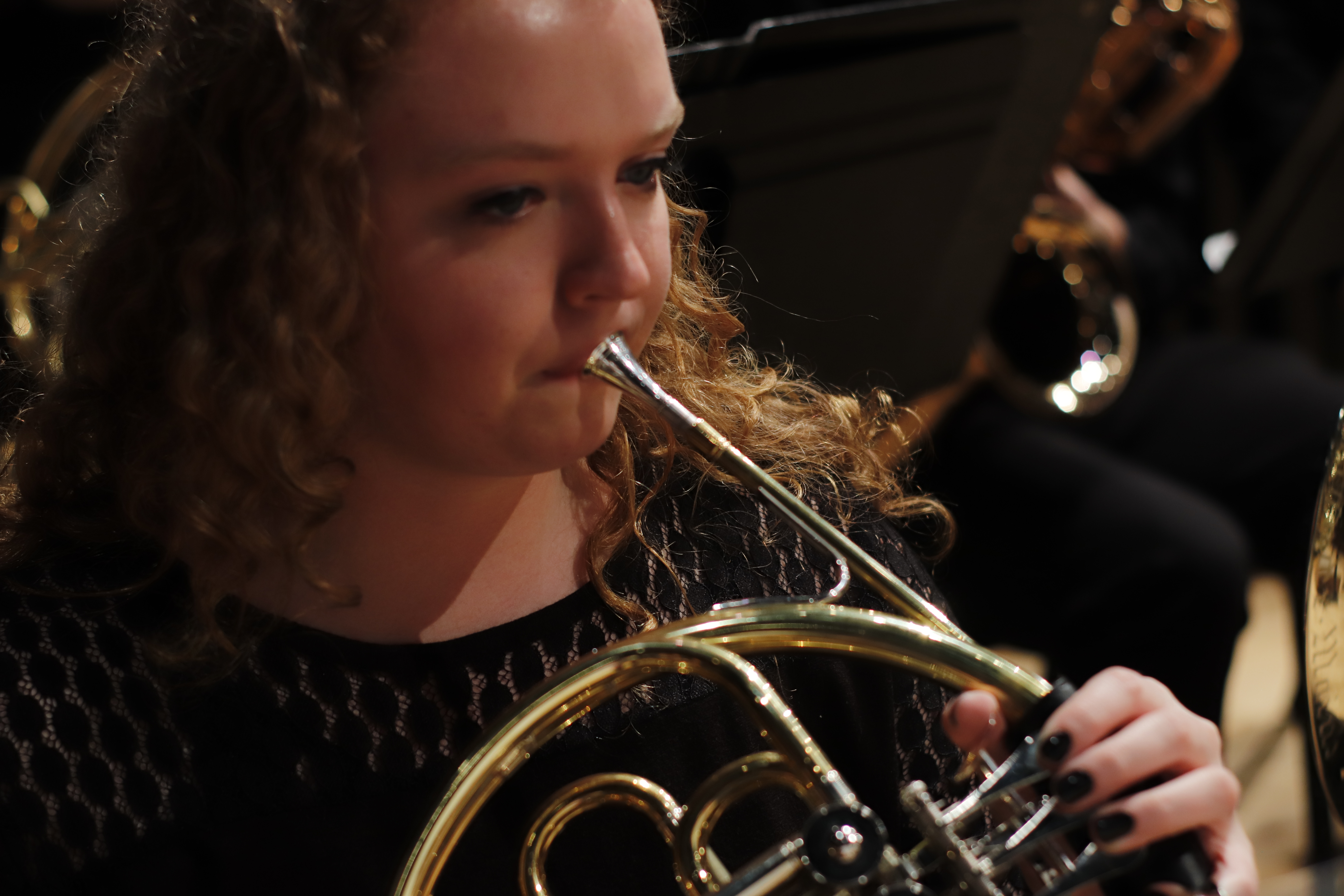 Performer on French Horn
