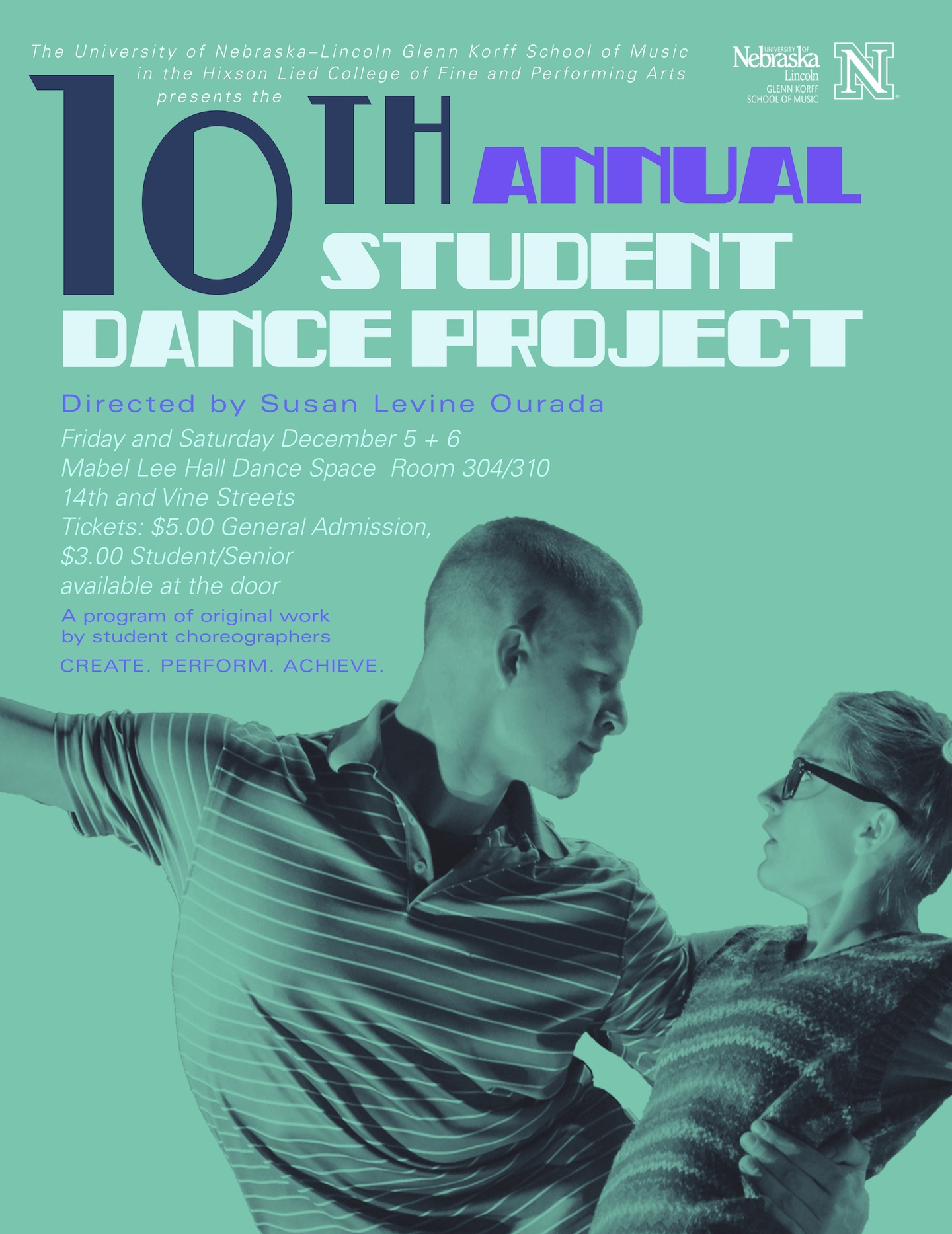 Student Dance Project poster