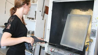 Printmaking facilities