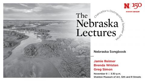 """The Nebraska Lectures will feature """"Nebraska Songbook"""" by Greg Simon and performed by Jamie Reimer, soprano, and Brenda Wristen, piano, on Nov. 8."""