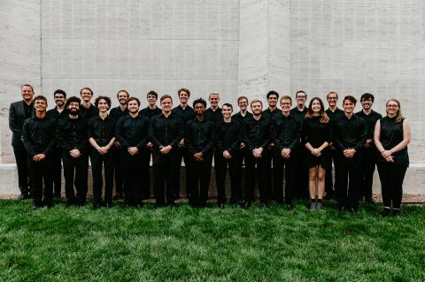 The Percussion Ensemble will perform during the Percussive Arts Society International Convention (PASIC) Nov. 13-16, as well as a recital in Lincoln on Oct. 29. Photo by Justin Mohling.
