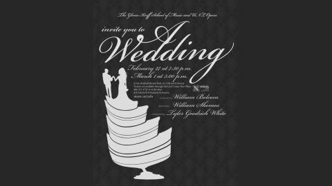 A Wedding, promotional poster