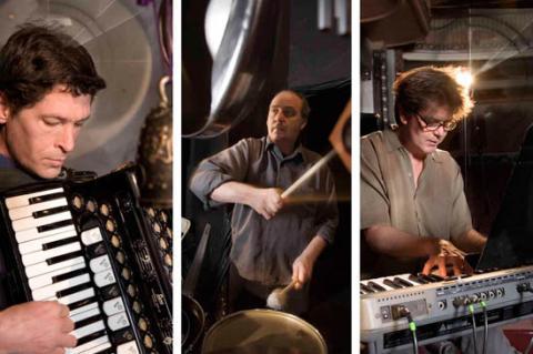The Alloy Orchestra. Photo credit:  Rogovin.com.