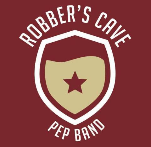 Robber's Cave Pep Band Logo