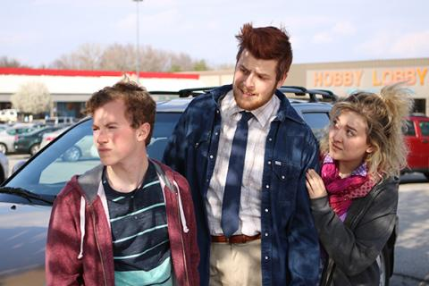 Left to right:   Jackson Belva, Clayton Shellgren and Ciara Hergott. Photo by Doug Smith.