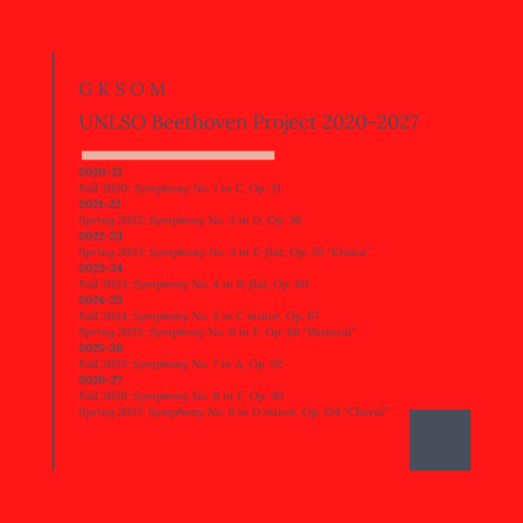 Beethoven Project Timeline