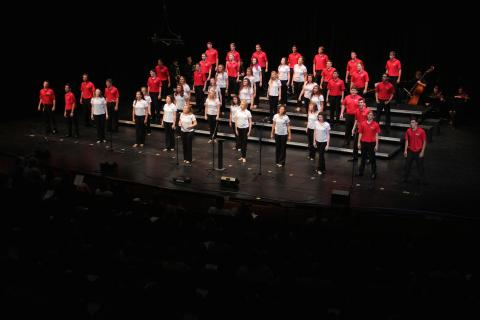 Big Red Singers in Performance at Kimball Recital Hall