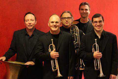 The University of Nebraska Brass Quintet
