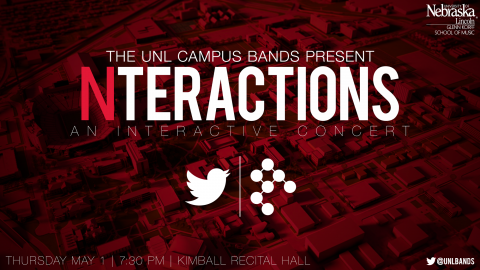 Nteractions, Thursday, May 1 at 7:30 p.m