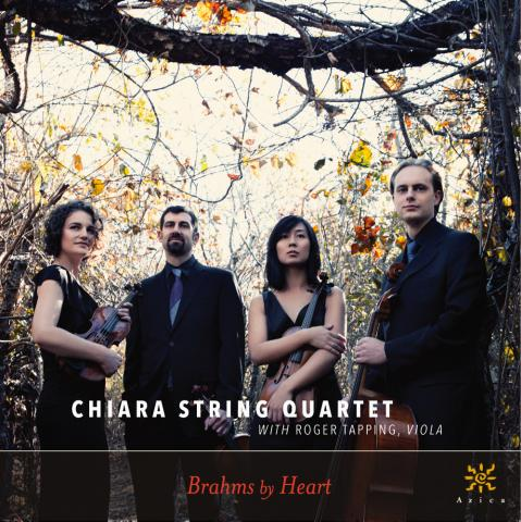 Chiara String Quartet, Brahms by Heart