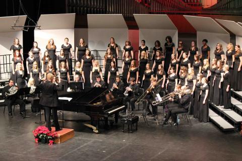 Cocoa and Carols performance at Kimball Recital Hall