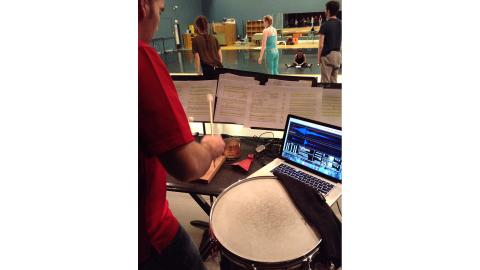 Evenings of Dance rehearsal