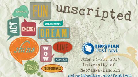 Thespian Festival, June 23-28, 2014