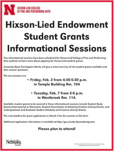 News Hixson Lied College Of Fine And Performing Arts Nebraska