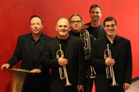 The University of Nebraska Brass Quintet