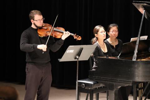 Viola Studio performance coming up November 2.