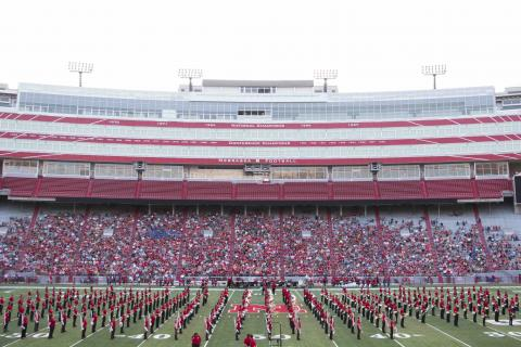 Cornhusker Marching Band Exhibition