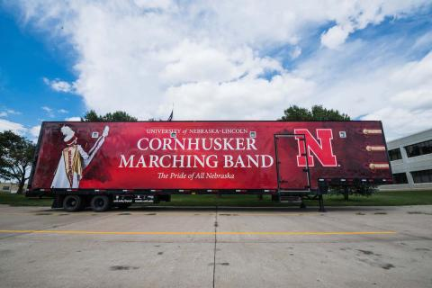 Cornhusker Marching Band Trailer
