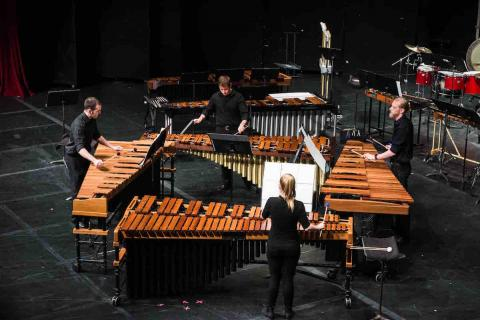 UNL Percussion Ensemble Performs at Kimball Recital Hall