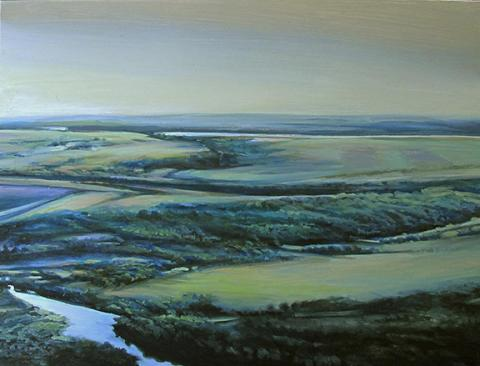 "Marcia Beth Goldenstein, ""Knife River."""