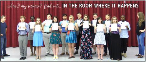 Musical Theatre Showcase Cast