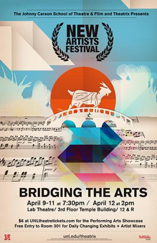 Theatrix presents the New Artists Festival April 9-12.
