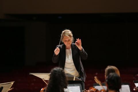 Glenn Korff School of Music DMA student Rebecca Nederhiser