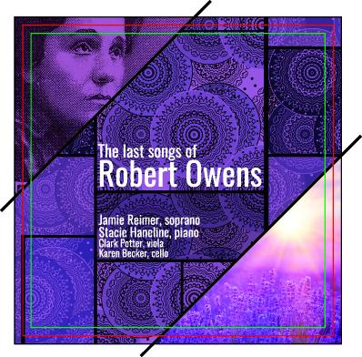 """Associate Professor of Voice Jamie Reimer's CD """"The Last Songs of Robert Owens"""" will be released later this fall."""