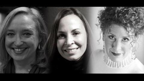 Amanda Jacobs, Elizabeth Dolan, and Shelley Waite