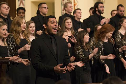 University Singers, the Cornhusker Marching Band, UNL Symphony Orchestra, UNL Opera, UNL Dance, Chamber Singers and Varsity Singers are all among the groups performing at the special N 150 Celebration Feb. 15 at the Lied Center for Performing Arts.