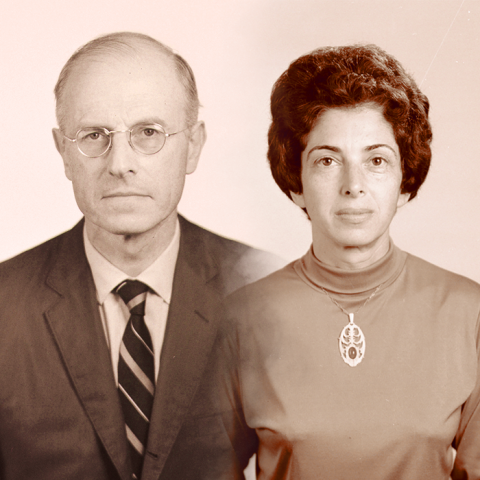 Peter and Inge Worth. Photos courtesy of University Archives and Special Collections, University of Nebraska–Lincoln Libraries.