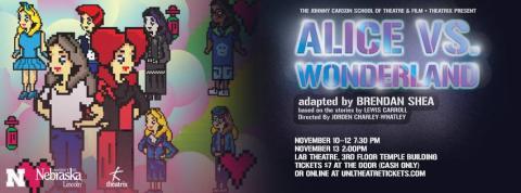 "Theatrix presents ""Alice in Wonderland"" Nov. 10-13."